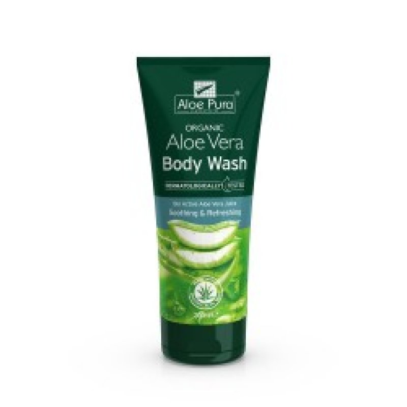 aloe vera body wash soothing & Refreshing