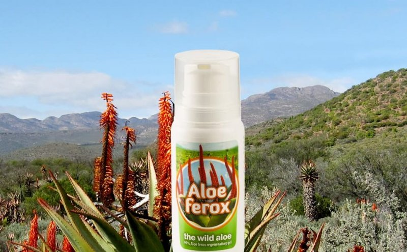 aloe ferox (wilde aloe vera) gel 100 ml