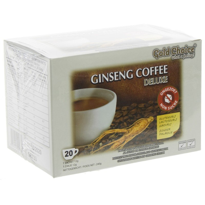 Ginseng Coffee Deluxe