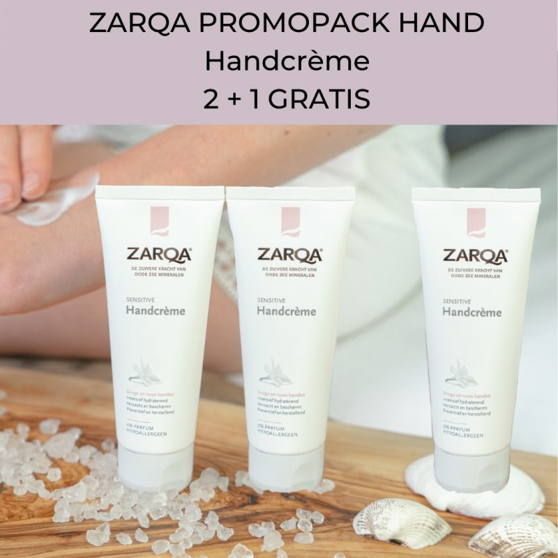 PROMO 2+1 Handcrème Sensitive