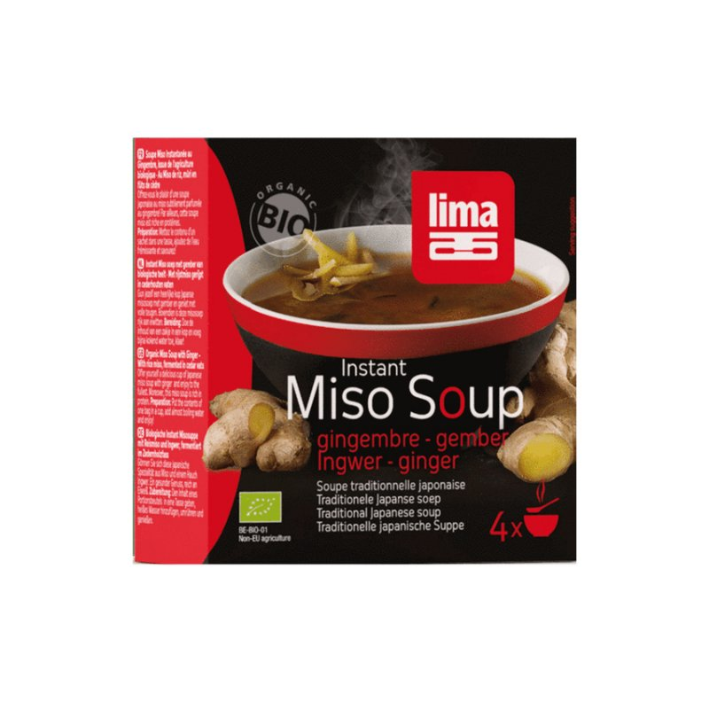 Instant Miso Soup: Gember