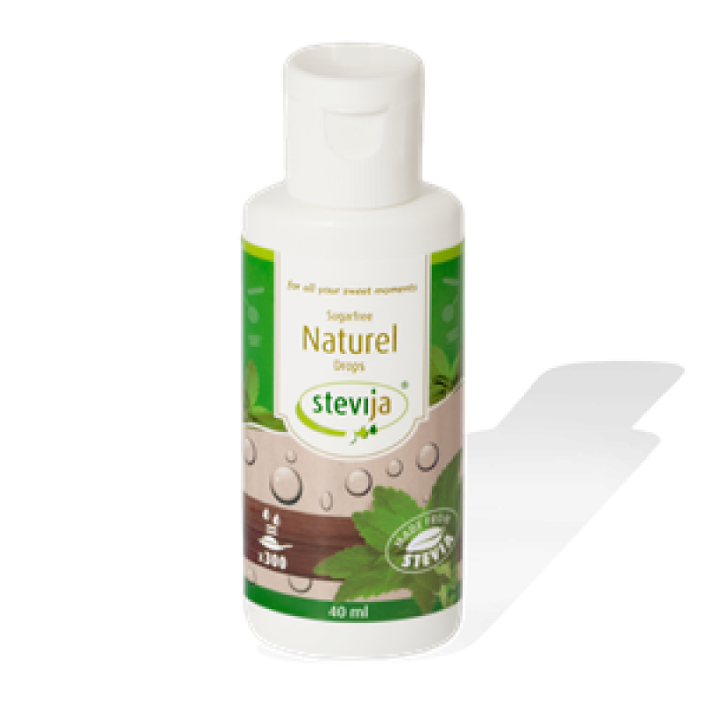 stevia vloeibaar naturel 40 ml