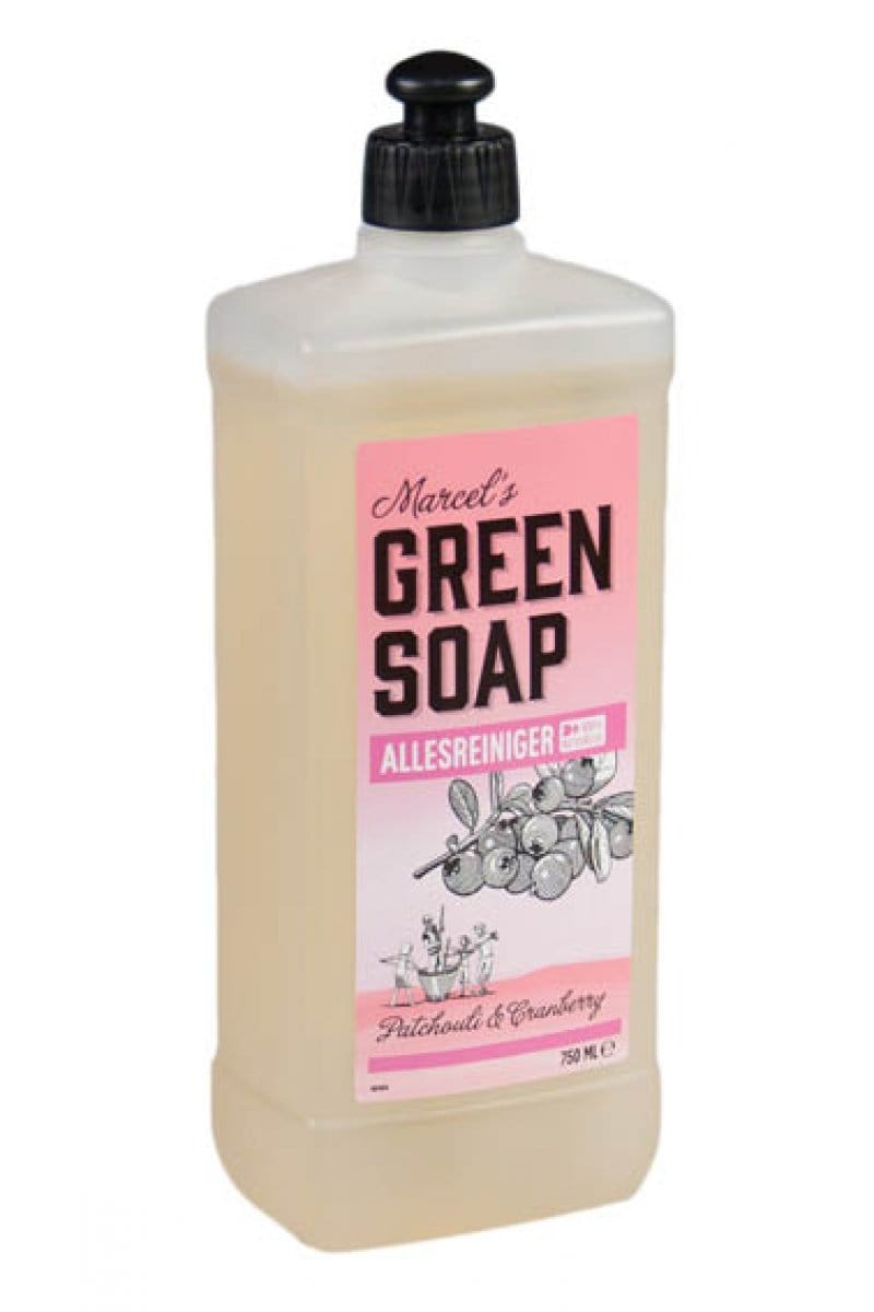 Marcel's Green Soap - Allesreiniger: Patchouli & Cranberry - 750 ml