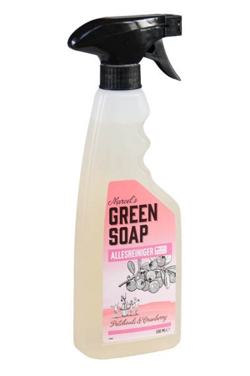 Marcel's Green Soap - Allesreiniger spray: Patchouli & Cranberry - 500 ml