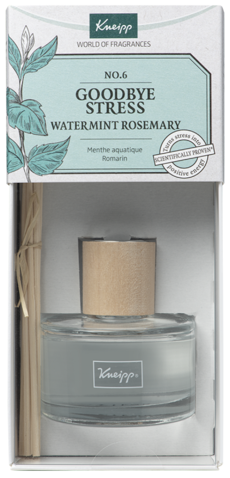 goodbye stress geurstokjes watermunt rozemarijn 50 ml