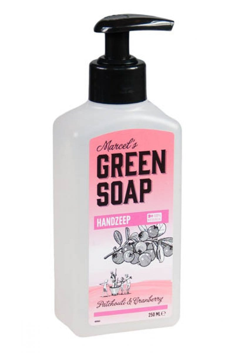 Marcel's Green Soap - Handzeep: Patchouli & Cranberry - 250 ml