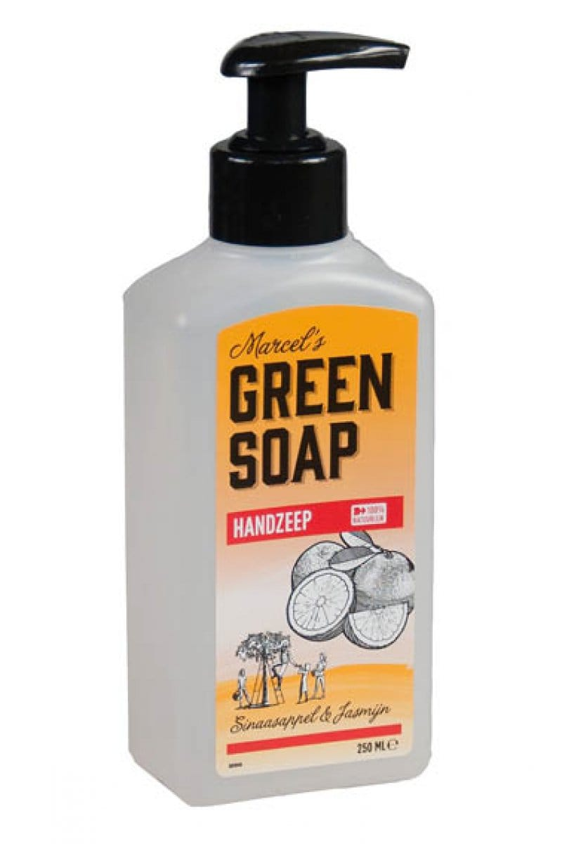 Marcel's Green Soap - Handzeep: Sinaasappel & Jasmijn - 250 ml