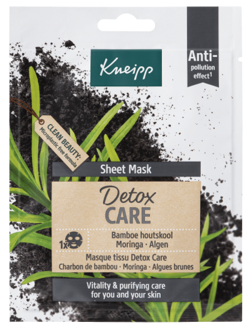 sheet mask detox care