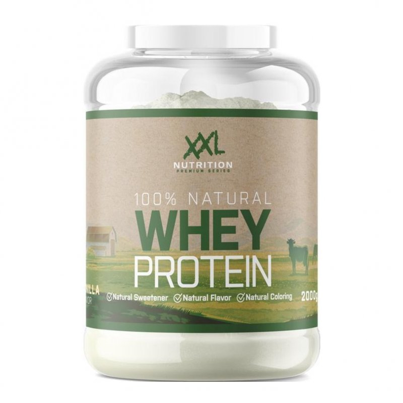 100% Natural Whey Proteïn Chocolade 750g